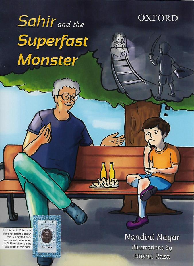 Sahi and the Superfast Monster