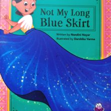 not my long blue skirt
