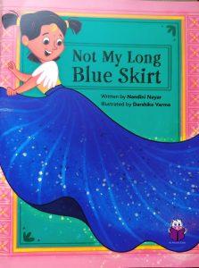 not my long blue skirt